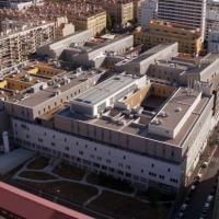 Photographie aérienne Hôpital Européen de Marseille