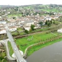 Photographie aérienne par drone de Saint-Victurnien