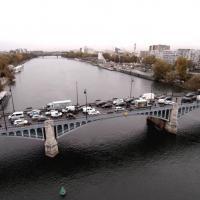 Photographie aérienne d'Asnières-sur-Seine