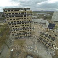 Prises de vues aérienne de chantier photographier par drone