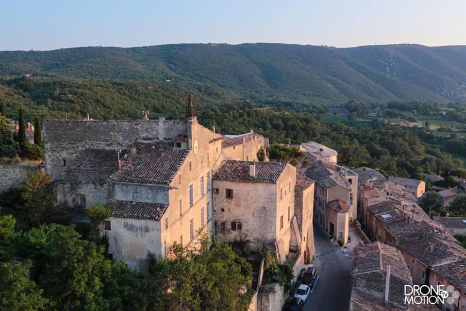 Provence-Alpes-Côte-d'Azur Village de Bonnieux Luberon vue du viel