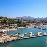 Pullman Palm Beach de Marseille en vue aérienne