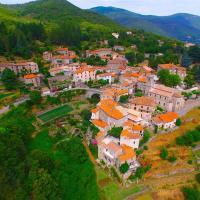 Saint-André-de-Majencoules, photo aérienne par drone en Occitanie