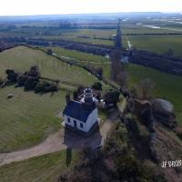 Saint-Samson-de-la-Roque en Normandie vue du ciel