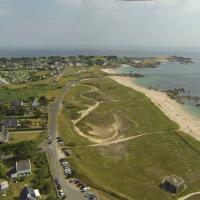 Village de Trégunc vue du ciel par un drone