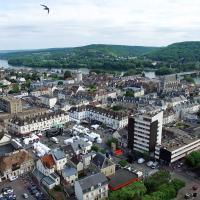 Vernon, photographie aérienne par drone