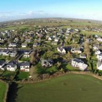Village de Locmaria-Plouzané en Bretagne vue du ciel