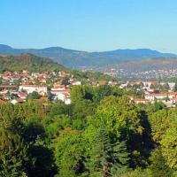 Ville de Cébazat vue du ciel par drone