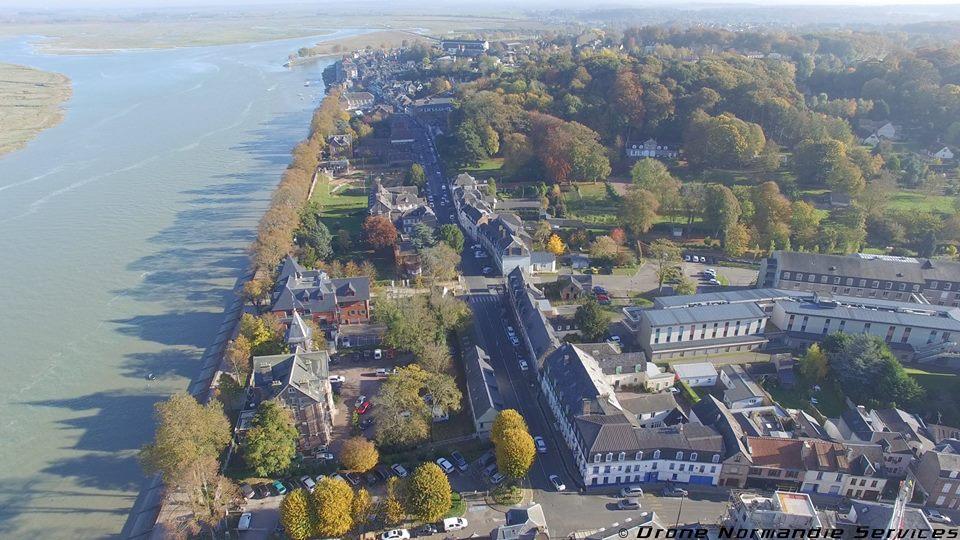 Ville de Saint-Valery-sur-Somme dans le Haut de France