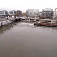 Vue aérienne de Boulogne-Billancourt en le-de-France