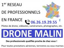 1er réseau de professionnels pilotes de drone, vidéastes, caméramans, photographes...