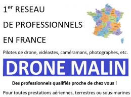 1er réseau de professionnels pilotes de drone vidéastes cameramans photographes