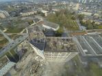 Prise de vue aérienne inspection batiment par drone