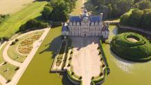 Château de Beaumesnil Eure par pilote drone Evreux
