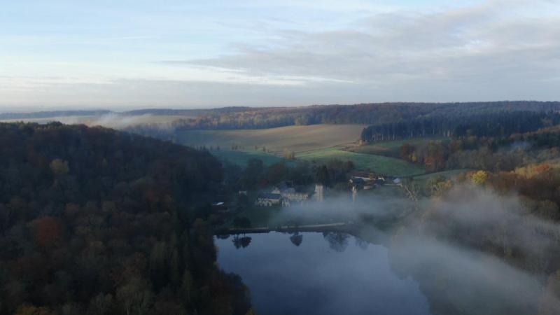 Prise de vue aérienne pour vidéo par drone dans le département de l'Eure 27