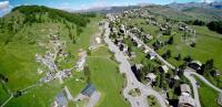 Alpes maritimes photo aerienne par drone de paysage de montagne