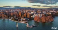 Annecy vue du ciel