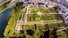 Apollo drone vue aerienne jardin