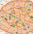 Arrondissements paris en vue aerienne par drone