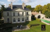 Bien immobilier photographie par un drone