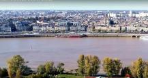 Bordeaux en vue aérienne photographie par un drone