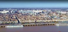 Bordeaux vu du ciel de Gironde Nouvelle-Aquitaine
