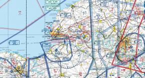 Carte aéronautique OACI pour vol de drone dans l'espace aérien