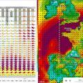 Carte de previsions meteo pour vols de drones