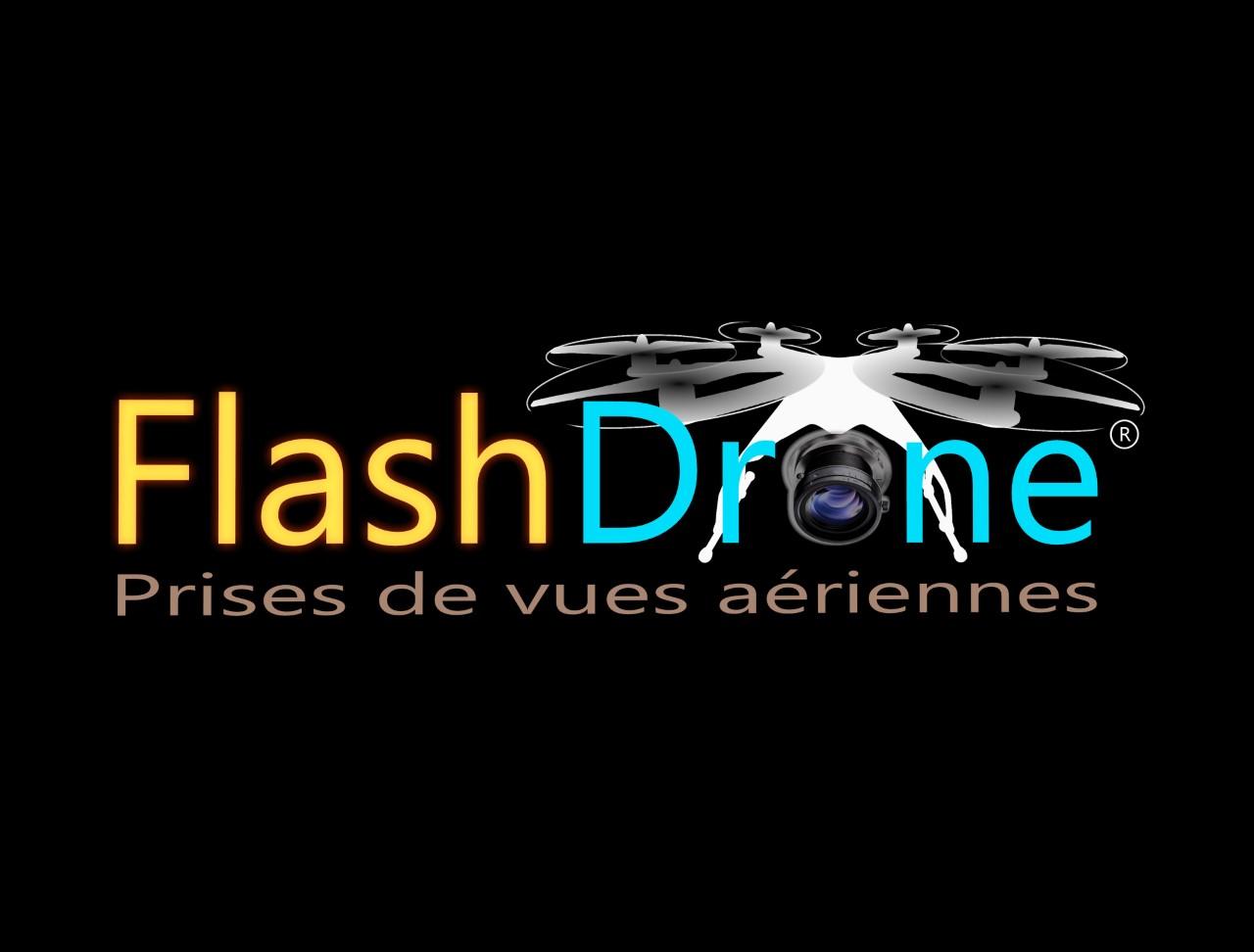 Carte De Visite Flashdrone Prise Vue Aerienne Dans La Manche
