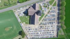 Cartographie de cimetière par drone