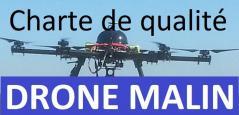 Charte de qualité de drone malin