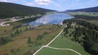 Cm drones besançon étang des rousses dans le Jura