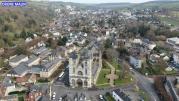 Collegiale notre dame des andelys en vue aerienne par pilote de drone eure normandie 20210111 191117