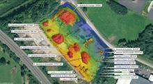Cubature par drone dans la Nièvre