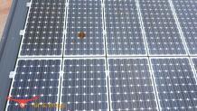 Défaut sur cellule de panneau solaire par pilote drone a Aix en Provence