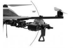 Détail nacelle drone quadricam tk
