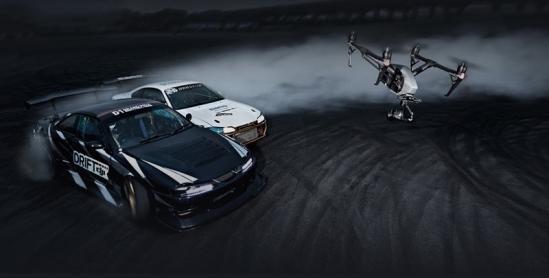 Drone cinématographique inspire 2 de chez DJI