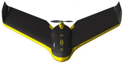 Drone ebee de parrot cartographique professionnel