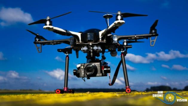 Drone hexacoptere dji f550
