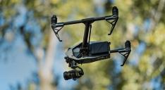 Drone de prise de vue aérienne pour le cinéma