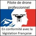 Pilotes et opérateurs de drone professionnels sur toute la France