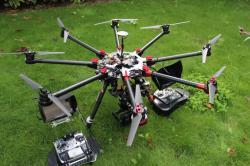 Drone octocopter pour toutes prestations aériennes