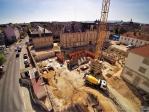 Drone pour photo de suivi de chantier