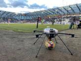 Drone professionnel de pilote de Nevers