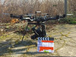 Drone professionnel pour le cinéma Alta 8