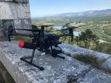 Drone professionnel de pilote dans l'Ain