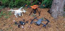 Drones du pilote d'Evreux dans l'Eure en Normandie