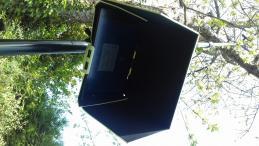 Ecran image retour perche télescopique pour prises de vue