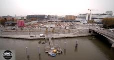 Equipement d'interventions pour travaux sur le pont d'Issy-les-Moulineaux