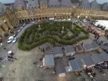 Événement commercial en photographie aérienne